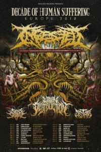 Ingested: tour europeo per il decennale del debut album