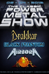 The Classic Power Metal Show il 6/4