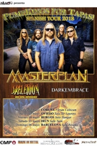 Skeletoon in tour con i Masterplan