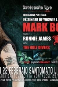 MARK BOALS: omaggio a Ronnie James Dio il 22-02 a Pistoia