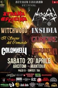 Acciaio Italiano Festival 2019: il 20/04 con Strana Officina, Necrodeath & more