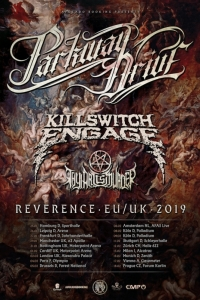 Thy Art Is Murder in tour con Parkway Drive e Killswitch Engage